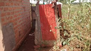The Water Project:  Latrine With Metal Siding