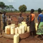 The Water Project: Katugo Community -  Borehole In Need Of Rehabilitation
