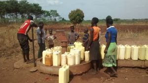 The Water Project:  Borehole In Need Of Rehabilitation