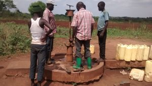 The Water Project:  Taking Apart Broken Borehole