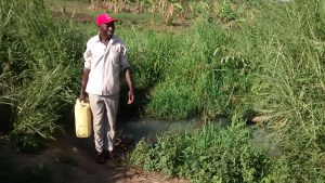The Water Project:  Filling Jerrican