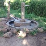 The Water Project: Alimugonza Community B -  Well In Need Of Rehabilitation