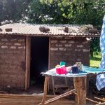 The Water Project: Alimugonza Pabidi Community -  Dish Drying Rack