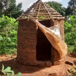 The Water Project: Alimugonza Pabidi Community -  Latrine