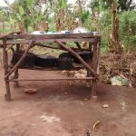The Water Project: Kyamudikya Community A -  Dish Drying Rack