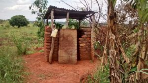 The Water Project:  Latrine With Handwashing Station