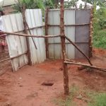 The Water Project: Kyamudikya Community A -  Unfinished Latrine