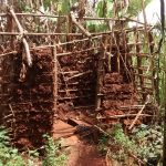 The Water Project: Pakanyi Gwoki Community -  Unfinished Latrine