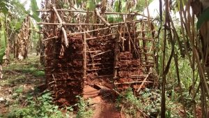 The Water Project:  Unfinished Latrine