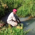 The Water Project: Nyakarongo Center Community -  Collecting Water At Open Source
