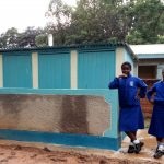 The Water Project: St. Mary's Girl's High School -  Finished Latrines