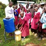 The Water Project: Namalasire Primary School -  Handwashing Training