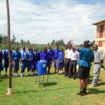 The Water Project: Eshisenye Girls Secondary School -  Handwashing Training