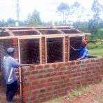 The Water Project: Shitoli Secondary School -  Latrine Construction