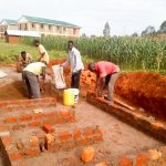 The Water Project: Eshisenye Girls Secondary School -  Latrine Construction