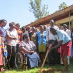 The Water Project: Namalasire Primary School -  Breaking Ground