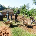The Water Project: Bishop Makarios Secondary School -  Tank Foundation Construction