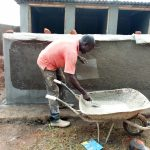 The Water Project: Namalasire Primary School -  Latrine Construction
