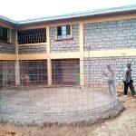The Water Project: Eshisenye Girls Secondary School -  Tank Construction