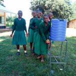 The Water Project: Bushili Primary School -  Handwashing Station