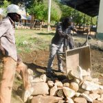 The Water Project: Rabuor Primary School -  Tank Foundation