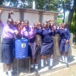 The Water Project: St. Stephen Maraba Secondary School -  Handwashing Station And Latrines