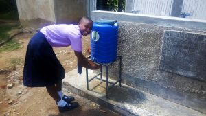 The Water Project:  Handwashing Station And Latrines