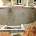 The Water Project: Eshisenye Girls Secondary School -  Finished Tank