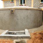 The Water Project: Eshisenye Girls Secondary School -  Finished Tank