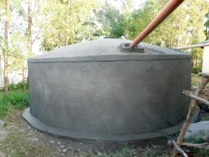 The Water Project:  Tank Drying