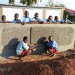 The Water Project: Namalasire Primary School -  Finished Latrines