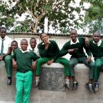The Water Project: Injira Secondary School -  New Latrines