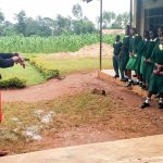 The Water Project: Injira Secondary School -  Handwashing Training