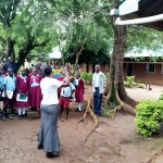 The Water Project: Namalasire Primary School -  Training On Tank Management