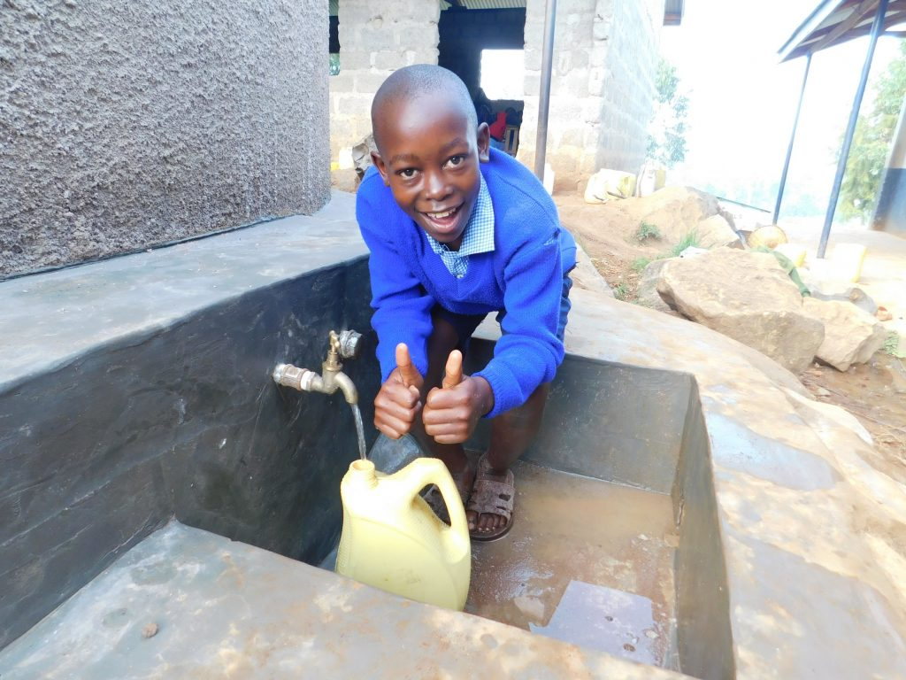 The Water Project : kenya18019-clean-water