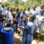 The Water Project: JM Rembe Primary School -  Hand Washing Demonstration