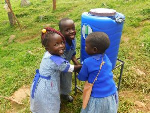 The Water Project:  Handwashing At New Station