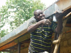 The Water Project:  Installation Of Gutters At The School