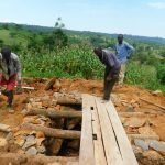 The Water Project: JM Rembe Primary School -  Setting Up Foundation Of Latrine