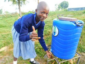 The Water Project:  Thumbs Up To Handwashing Stations