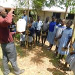 The Water Project: JM Rembe Primary School -  Water Disinfection Demonstration