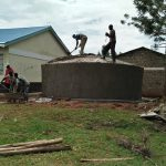 The Water Project: Essong'olo Secondary School -  Finalizing The Tank