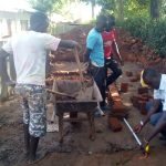 The Water Project: Essong'olo Secondary School -  Gathering The Materials