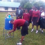 The Water Project: Essong'olo Secondary School -  Handwashing Demonstration