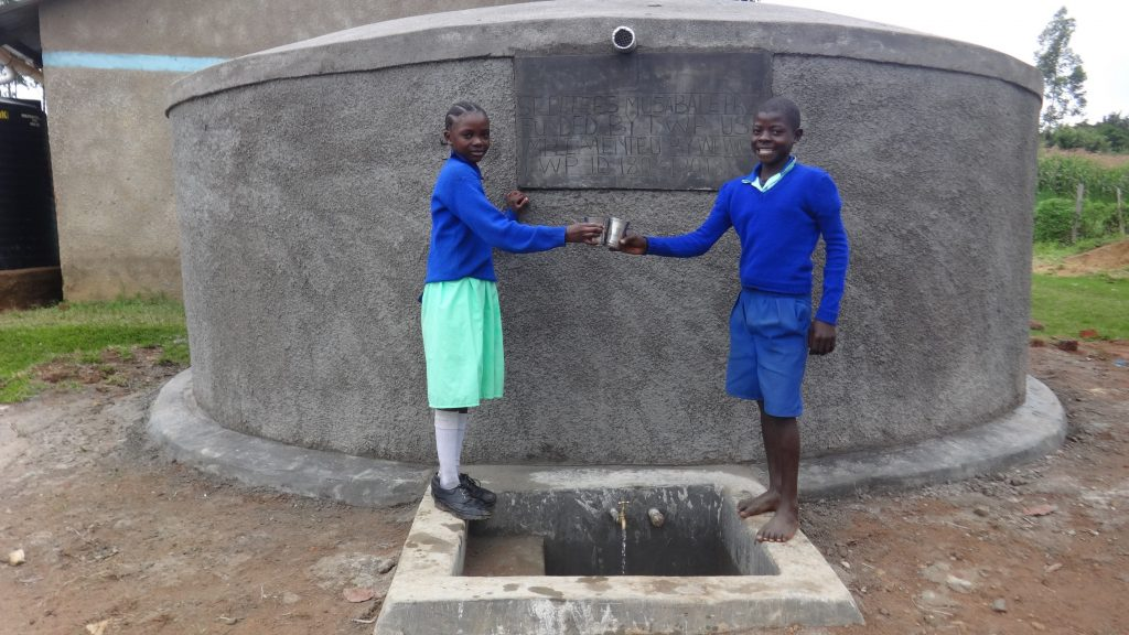 The Water Project : kenya18031-cheers-to-clean-water