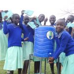 The Water Project: Musabale Primary School -  New Handwashing Station
