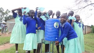 The Water Project:  New Handwashing Station