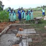 The Water Project: Musabale Primary School -  New Latrines Under Construction