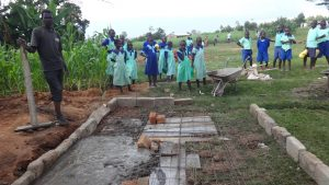 The Water Project:  New Latrines Under Construction
