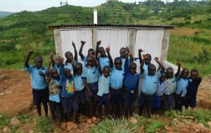 The Water Project:  Boys Love Their New Latrine